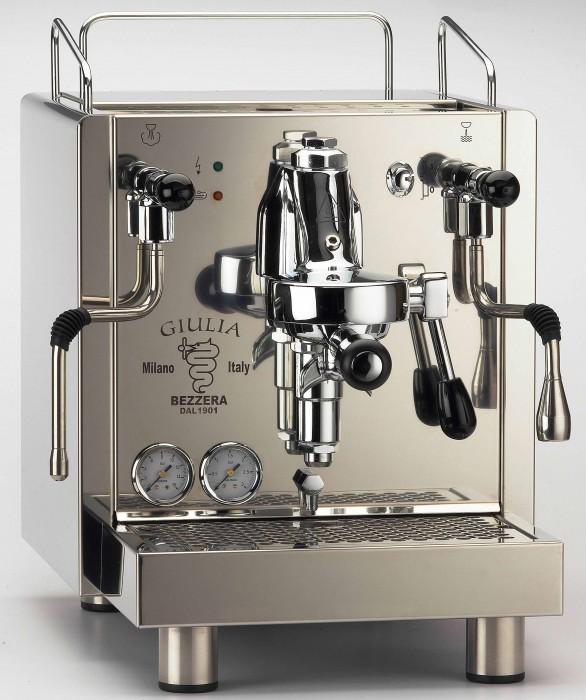 apara de cafea Bezzera GIULIA S MN dozare manuală si rezervor apă